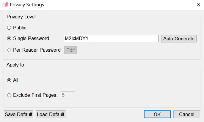 EaseFlip Add Single Password