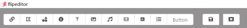 Flipeditor Toolbar