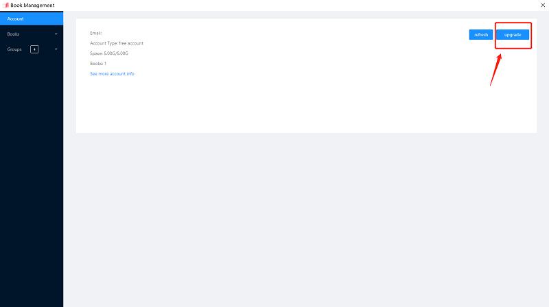 Upgrade EaseFlip Account