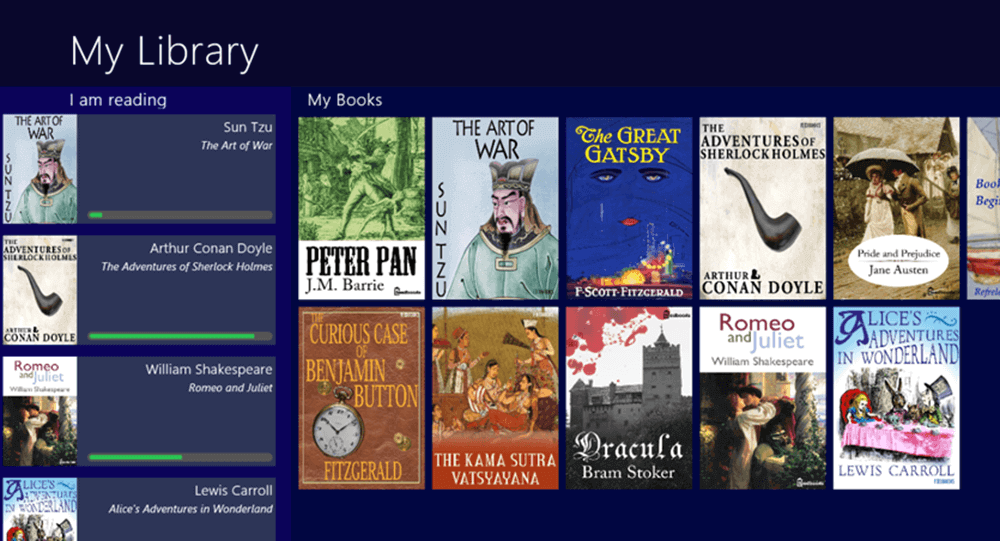 Book Bazaar Reader My Library