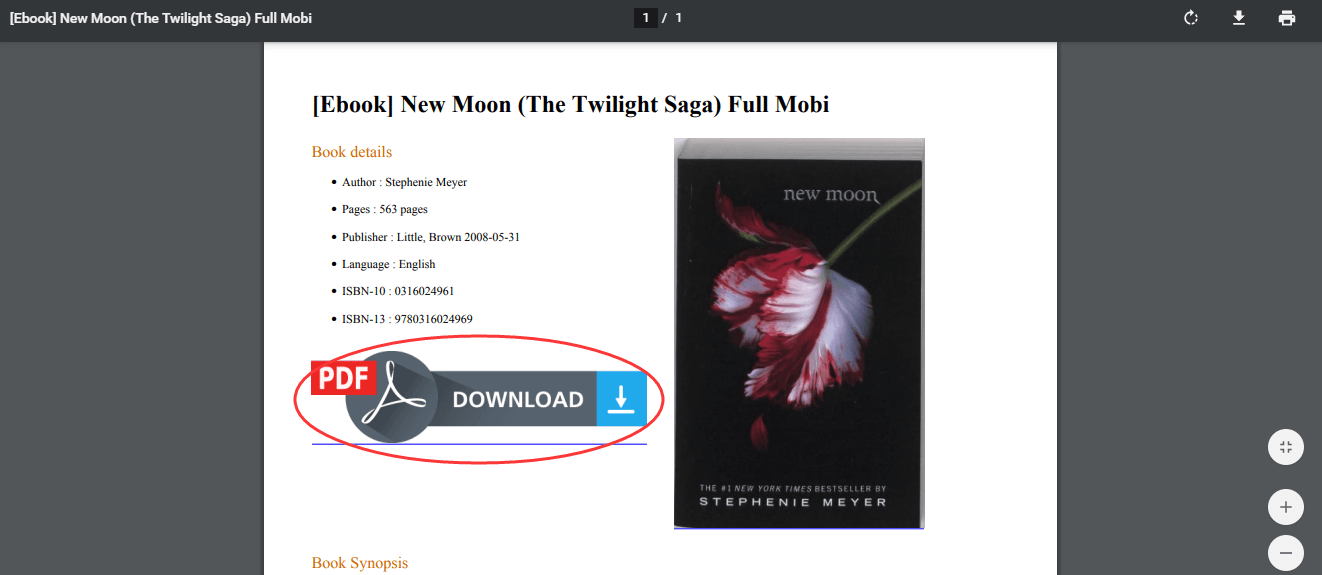 Ebook New Moon