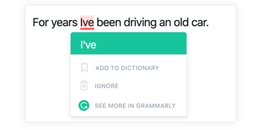 Grammarly Extension Grammar Check