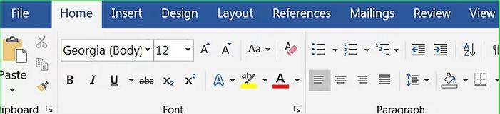 Modifica di Microsoft Word