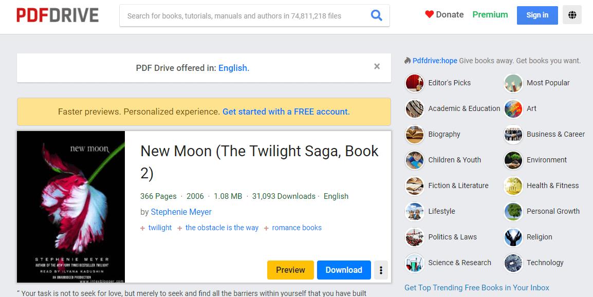 PDF Drive New Moon