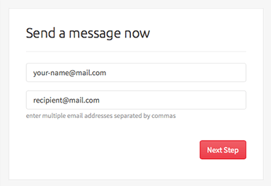 Securely Send Enter Email Address