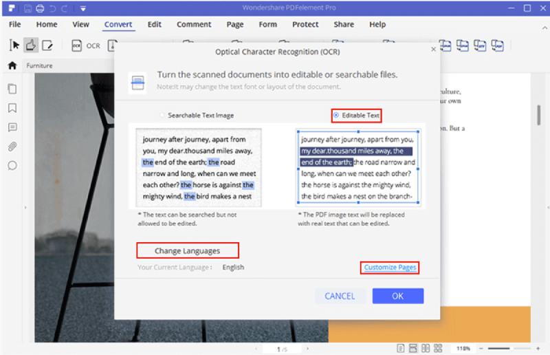 Wondershare PDFelement Pro OCR