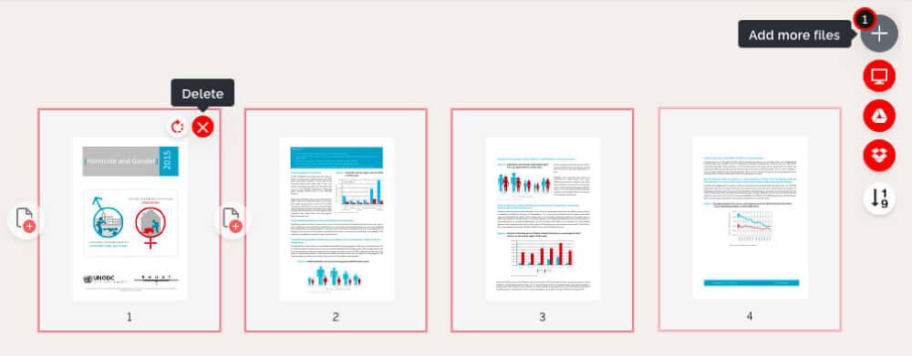 iLovePDF PDF Organizer