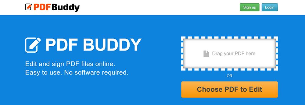 PDF Buddy Upload Files