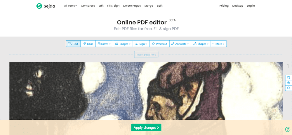 Sejda Editor