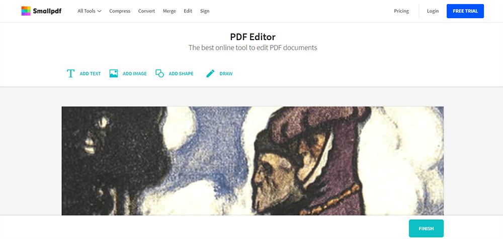 Smallpdf Editor