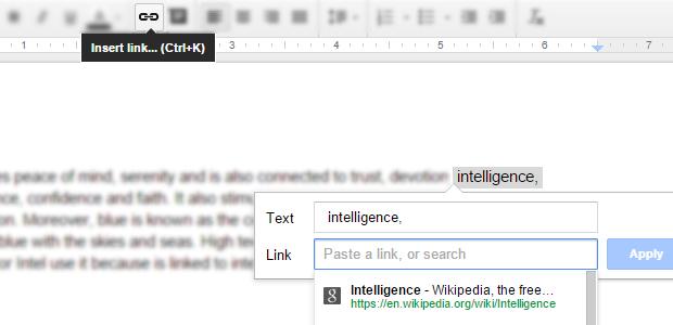Add Hyperlink to PDF in Google Docs
