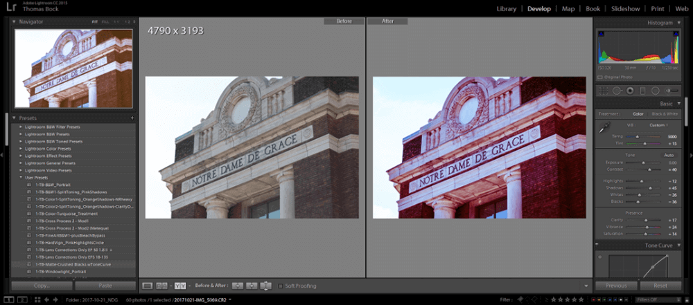 Adobe Photoshop Lightroom Enhance Photo