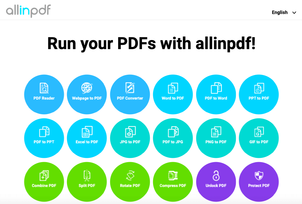 Smallpdf Alternatives Allinpdf