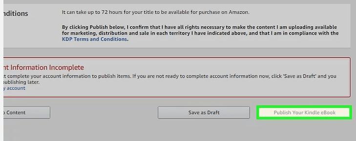 Amazon Kindle Direct Publishing Publica tu libro