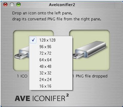 AveIconifier Change Image Size