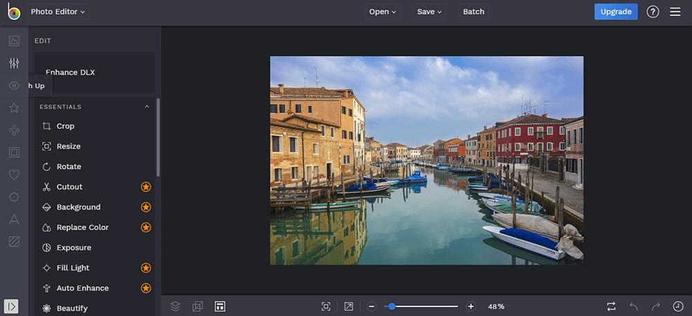 Adobe Photoshop Lightroom Foto verbessernBeFunky Foto verbessern