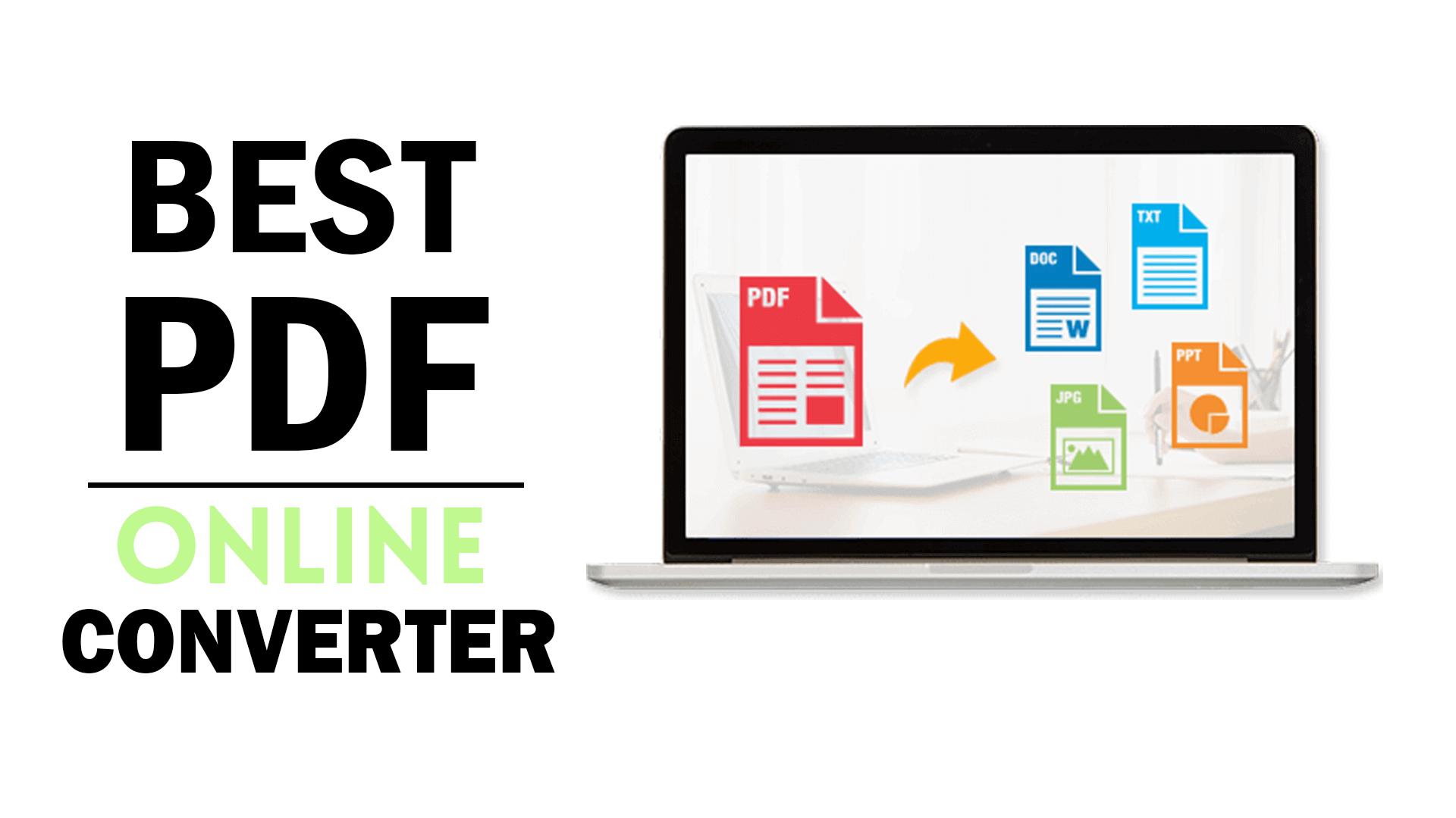 최고의 온라인 PDF 변환기