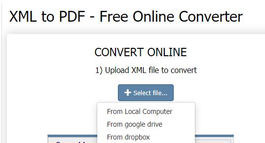 CoolUtils Upload XML File