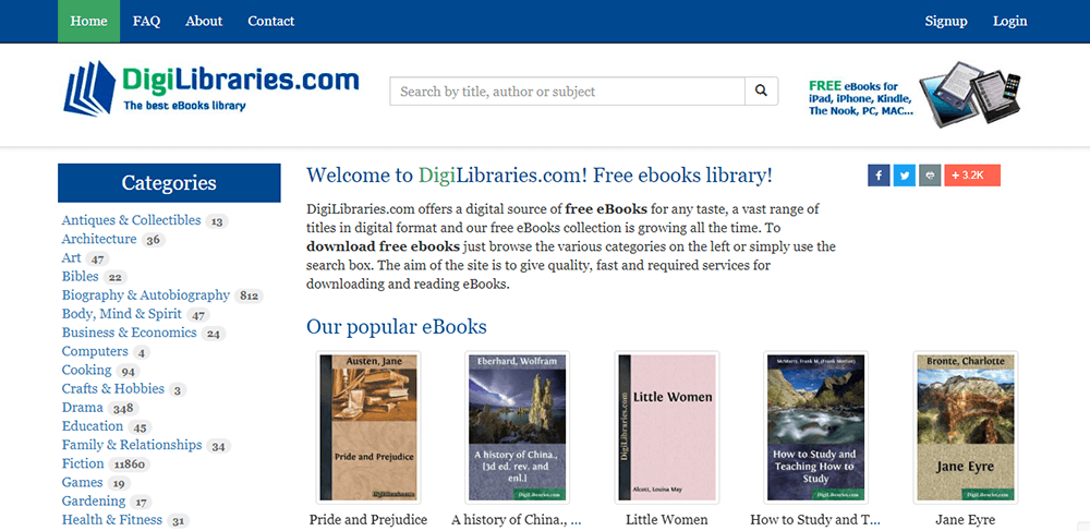 DigiLibraries Search Textbook