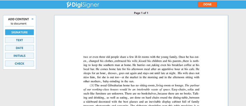 DigiSigner Sign PDF