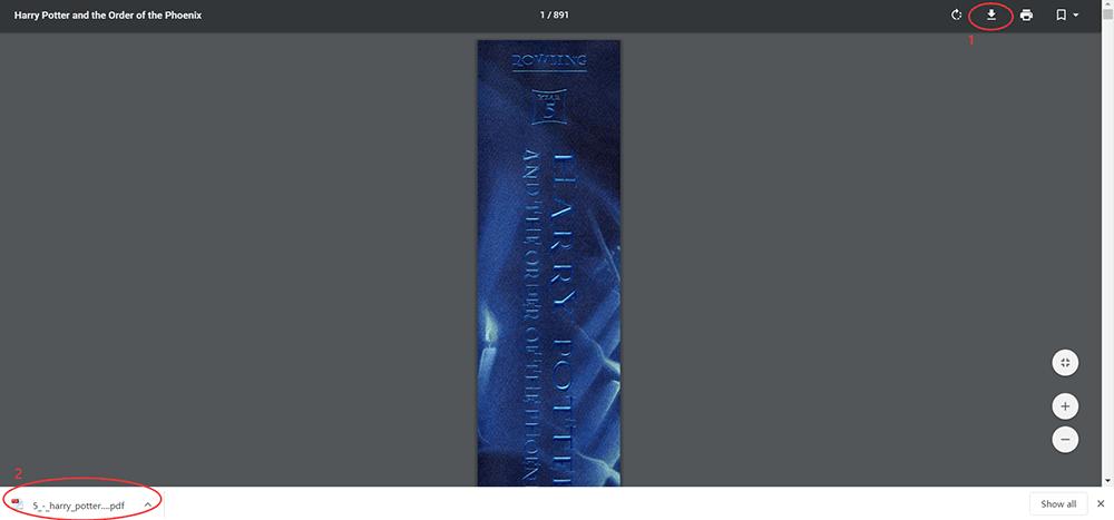 Scarica il libro PDF di Harry Potter e l'Ordine della Fenice