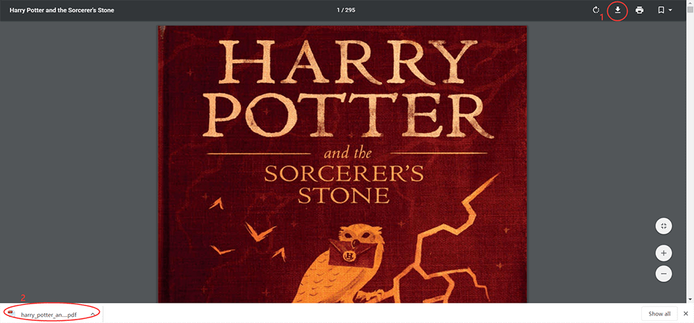 Download Harry Potter and the Sorcerer's Stone PDF Book