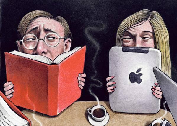 eBook VS Taschenbuch