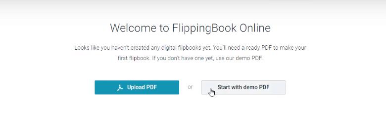 FlippingBook Upload PDF