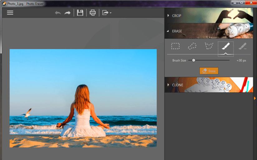 Borrado del kit de herramientas de edición de Fotophire