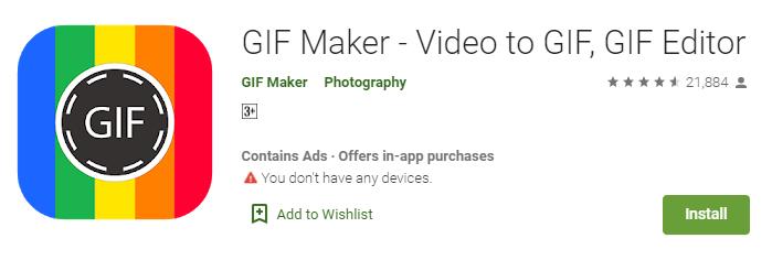 GIF Maker Video to GIF