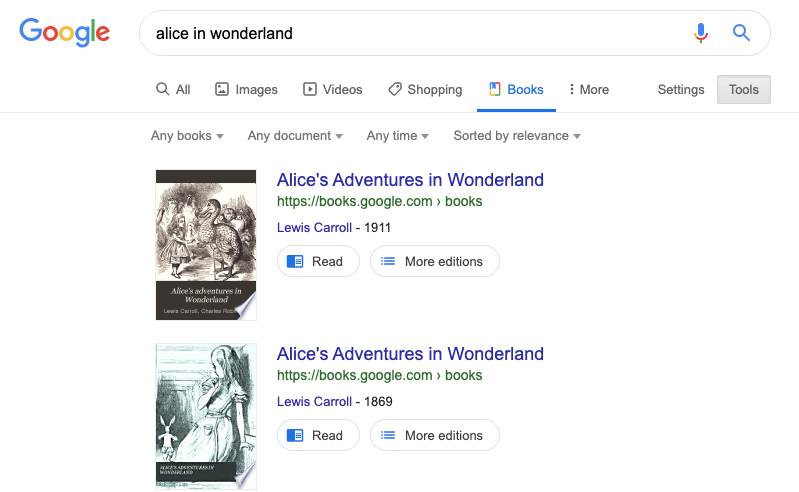 무료 도서 온라인 Google Books