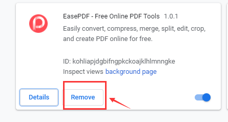 Google Chrome Extension Remove