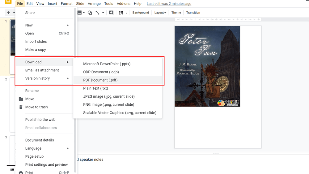 Google Slides Download