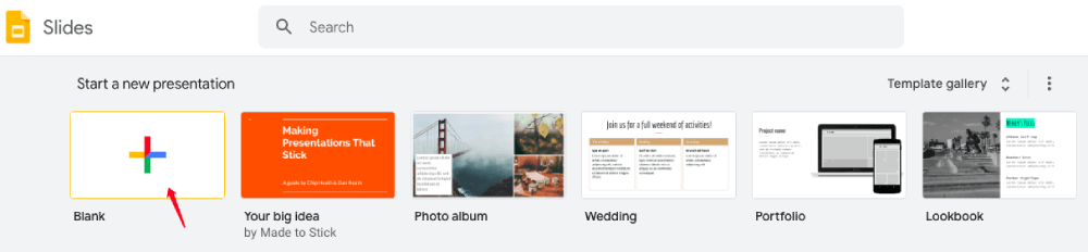 Google Slides Start A New Presentation