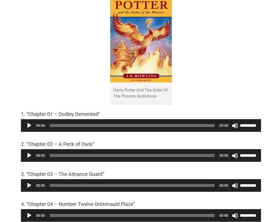 Harry Potter Hörbücher Harry Potter und der Orden des Phönix