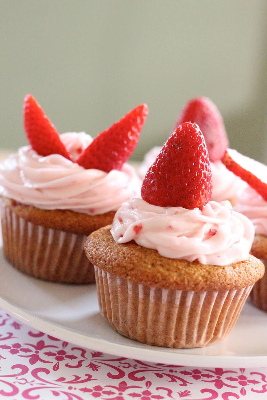 Gesunde hausgemachte Cupcakes