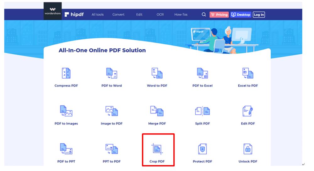 Hipdf 홈페이지 홈페이지 자르기 PDF