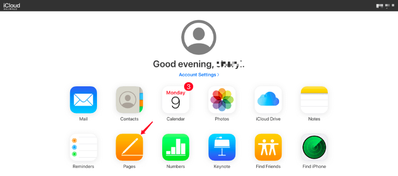 iCloud Launchpad Pages