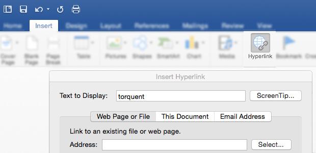 Insert Hyperlink to PDF in Word