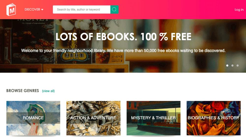 무료 온라인 도서 Manybooks