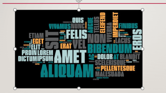 Microsoft PowerPoint Add Word Cloud