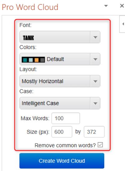 Microsoft PowerPoint Word Cloud erstellen