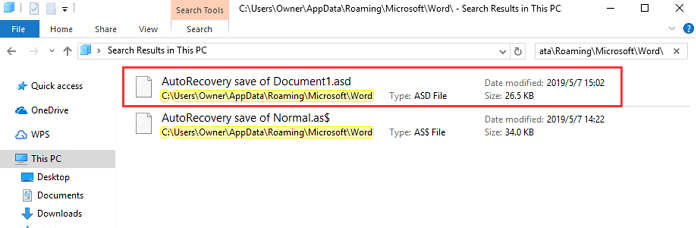 Microsoft Word Recover from Temporary Files