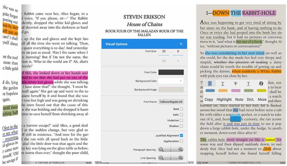Moon+ Reader Read and Edit PDF