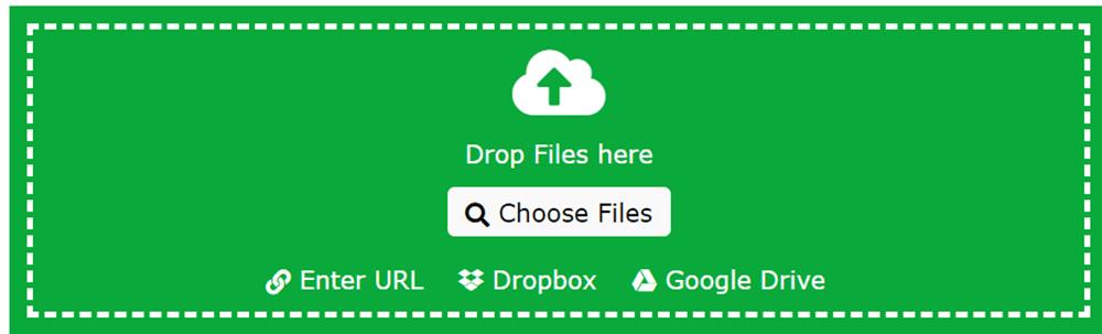Online Convert Choose Files