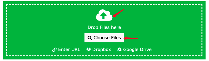 Online-Convert-Com PDF to EPUB Choose Files