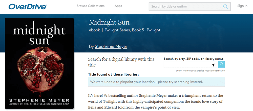 OverDrive Midnight Sun