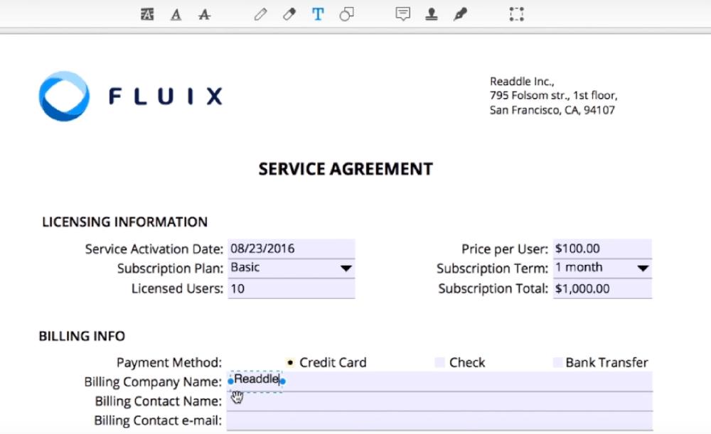 PDF Expert Complete el formulario PDF
