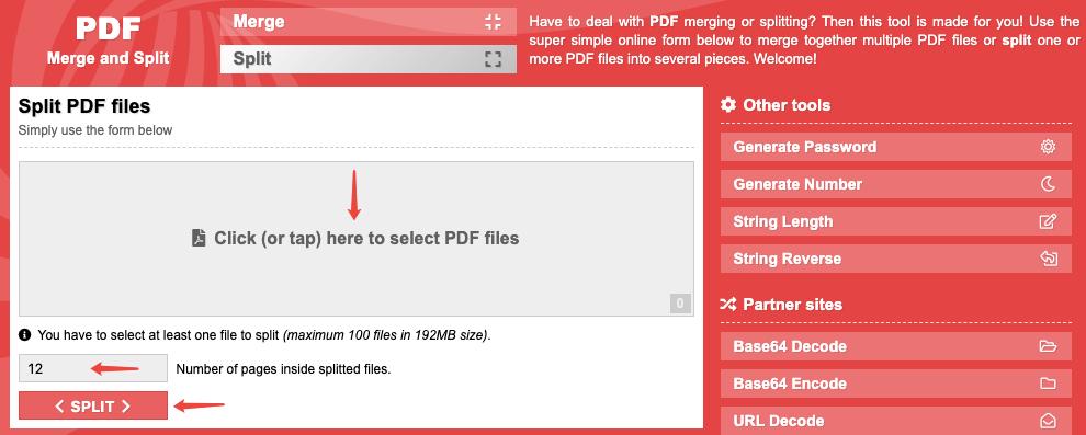 PDF Split And Merge PDFSPL