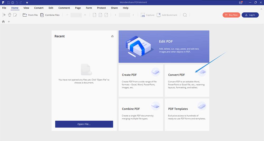 PDFelement Convert PDF